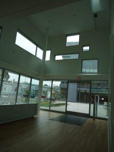 Chu Hall entrance area