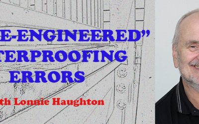 "Recap: March Meeting – ""Value-Engineered"" Waterproofing Errors"