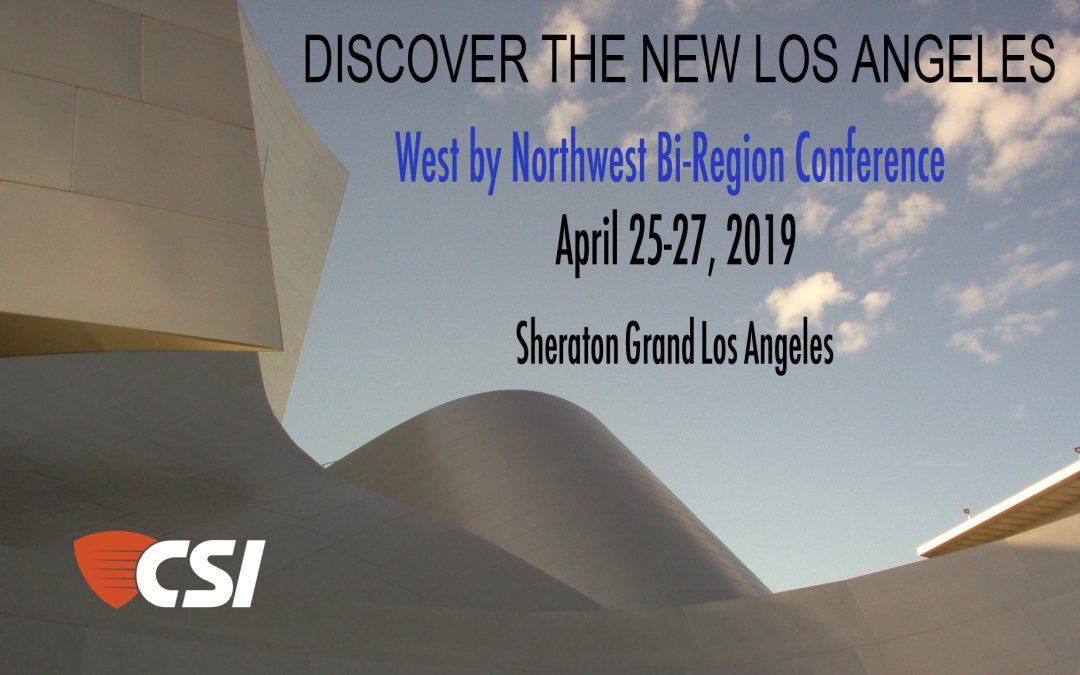West by Northwest Bi-Region Conference