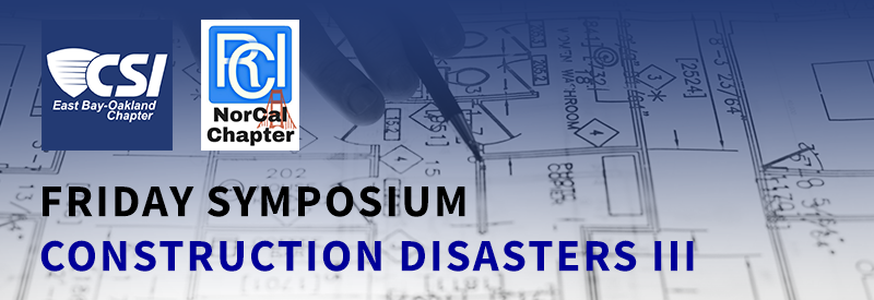 Friday Symposium: Construction Disasters III
