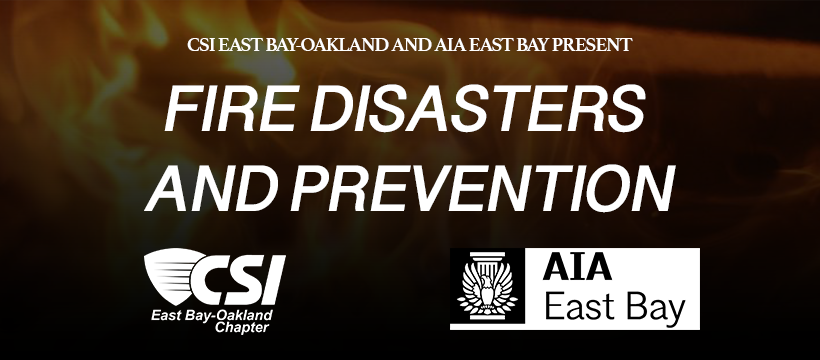 Fire Disasters and Prevention Symposium