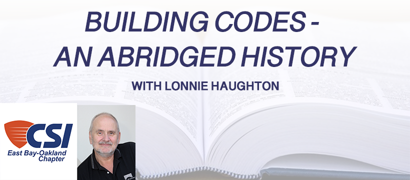 Building Codes – An Abridged History