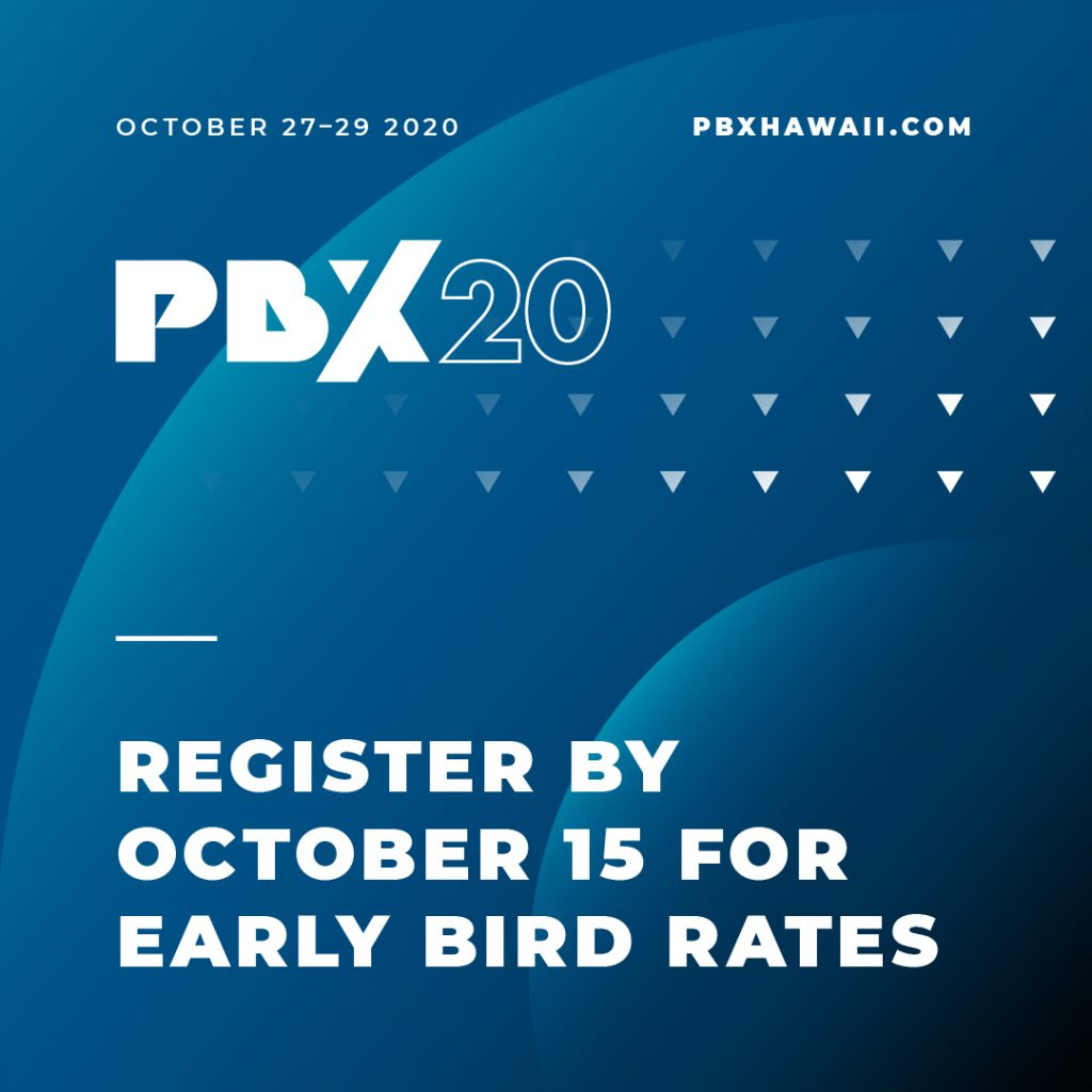 PBX20 early bird promo image