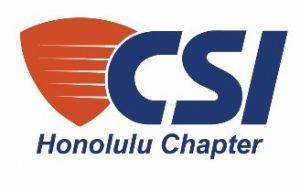CSI Honolulu Chapter Logo