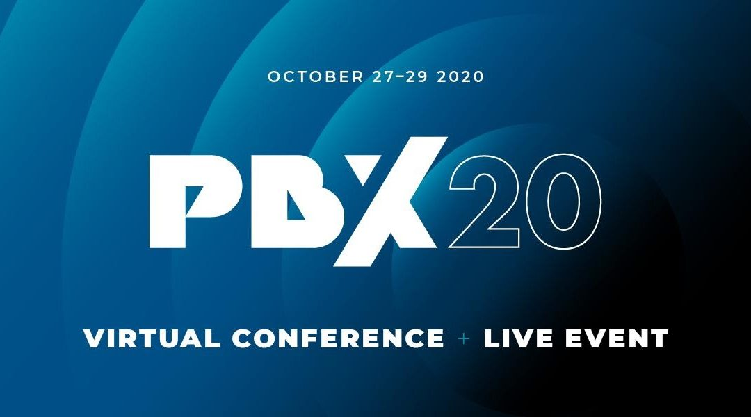 PBX20 virtual conference promo header image