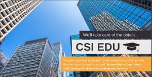 CSI West Region Project Delivery Education Program Header Image