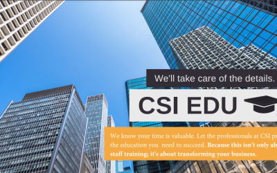 CSI West Region Offering Project Delivery Education Program in Spring 2021
