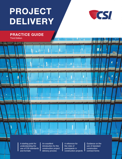 CSI Project Delivery Guide 3rd Edition Text Cover